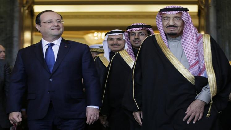 ولي العهد السعودي يصل إلى فرنسا لبحث ملف الإرهاب مع هولاند