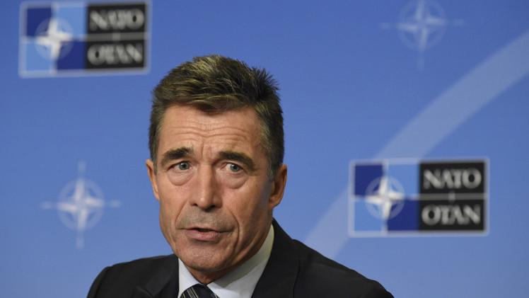 راسموسن: الناتو ينوي التمسك بالاتفاقية الأساسية مع روسيا