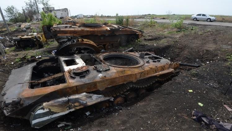هيومن رايتس ووتش: القوات الأوكرانية استخدمت قنابل عنقودية في قصف لوغانسك