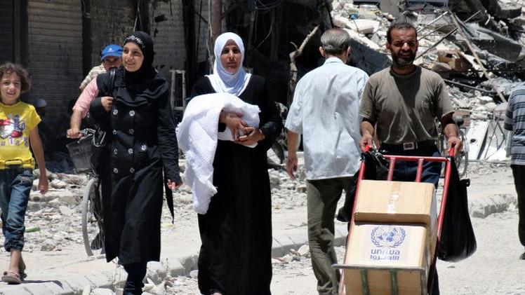 برنامج الأغذية العالمي: 4,1 مليون في سورية يحصلون على حصص غذاء الشهر الماضي