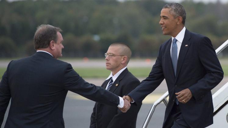 أوباما يلتقي في إستونيا رؤساء دول البلطيق ويتفقد كتيبة إنزال