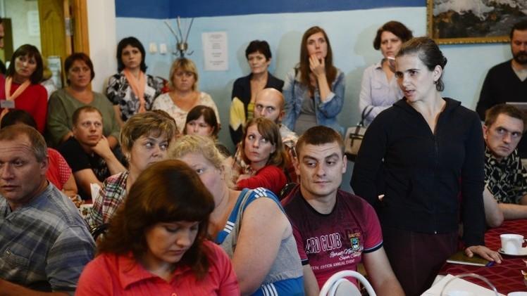 دولغوف: المعلومات حول عدد اللاجئين في أوكرانيا تؤكد ضرورة وقف العملية العسكرية
