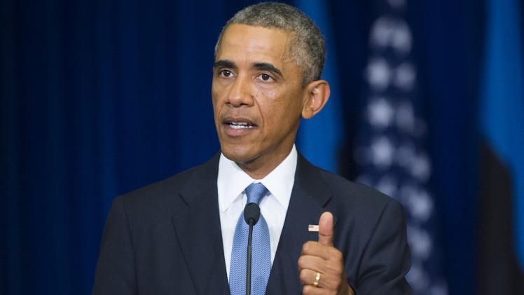 أوباما: الضربات الجوية ضد