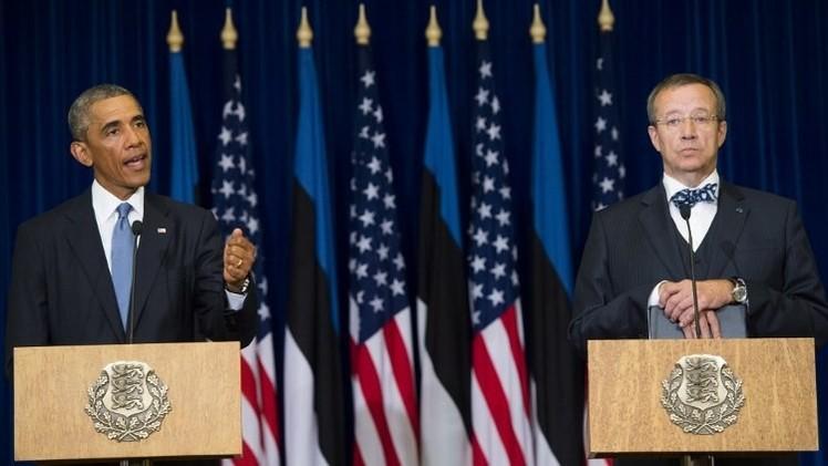 أوباما: من السابق لأوانه الحديث عن وقف لإطلاق النار في أوكرانيا