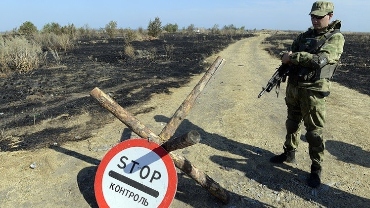أوكرانيا تعزل نفسها بجدار حدودي