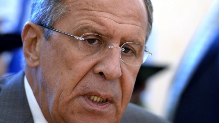 لافروف يأمل أن تصغي كييف ودونيتسك ولوغانسك لخطة بوتين للسلام