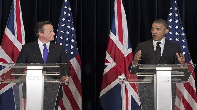 أوباما وكاميرون: لن نسمح لقتلة همجيين بإخافتنا