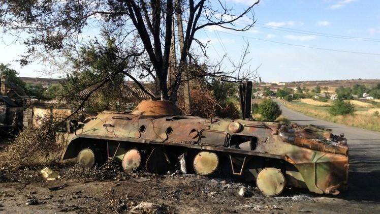 كييف: خسائرنا منذ بداية العملية العسكرية في شرق أوكرانيا تبلغ 837 قتيلا و3044 جريحا