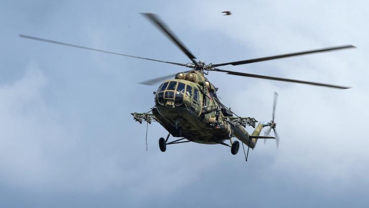 مصرع شخصين في سقوط مروحية جنوب روسيا