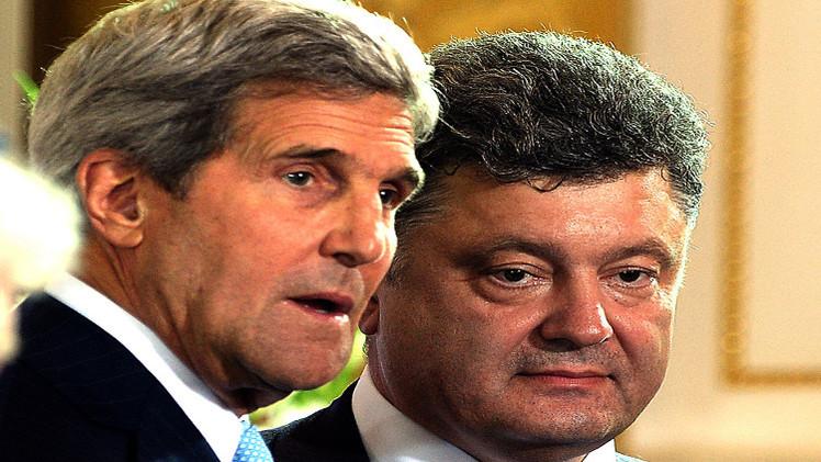 كيري: أوباما متحمس لفرض عقوبات ضد موسكو لكنه يأمل بتسوية في أوكرانيا