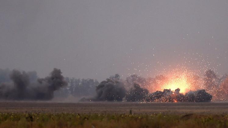 بعثة المراقبة الدولية قلقة بشأن الوضع في محيط ماريوبل جنوب شرق أوكرانيا