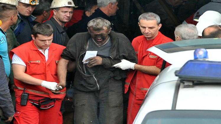 مقتل 5 عمال في منجم بالبوسنة