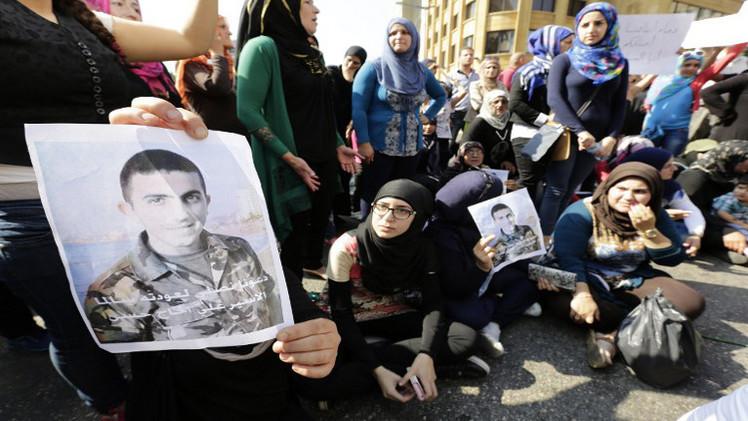 جبهة النصرة تنشر فيديو لعسكريين لبنانيين محتجزين لديها