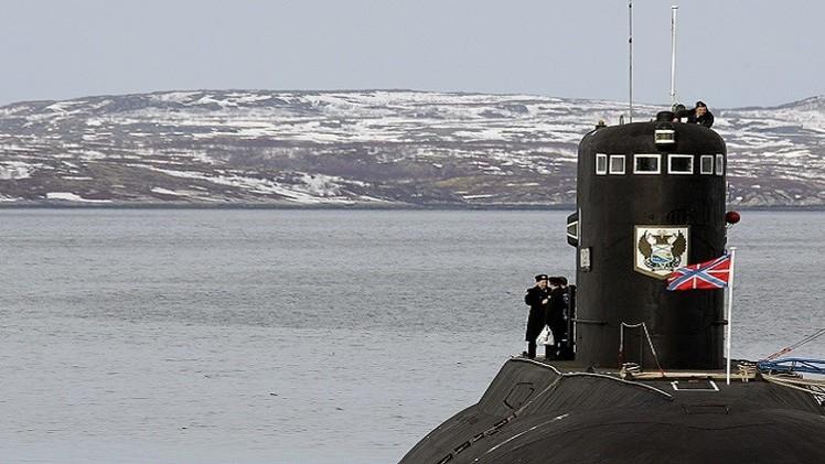 روسيا ترسل سفنا حربية إلى القطب الشمالي لإنشاء قاعدة عسكرية  (فيديو)