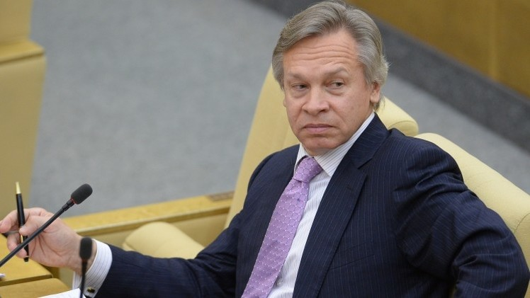 بوشكوف: لا بديل عن خطة بوتين لتسوية الأزمة في شرق أوكرانيا