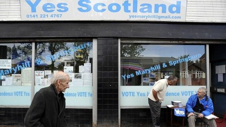 استطلاع: لأول مرة.. مؤيدو استقلال اسكتلندا أكثر من معارضيه