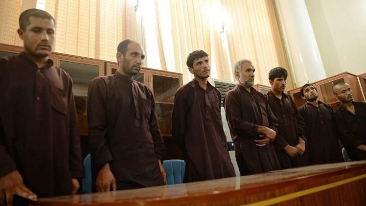 الإعدام لـ 7 أفغان بتهمة الاغتصاب الجماعي