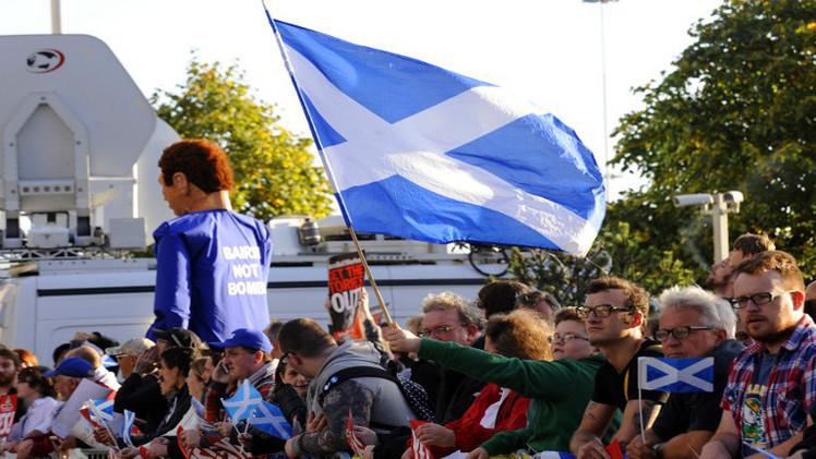 ارتفاع نسبة مؤيدي استقلال اسكتلندا عن بريطانيا