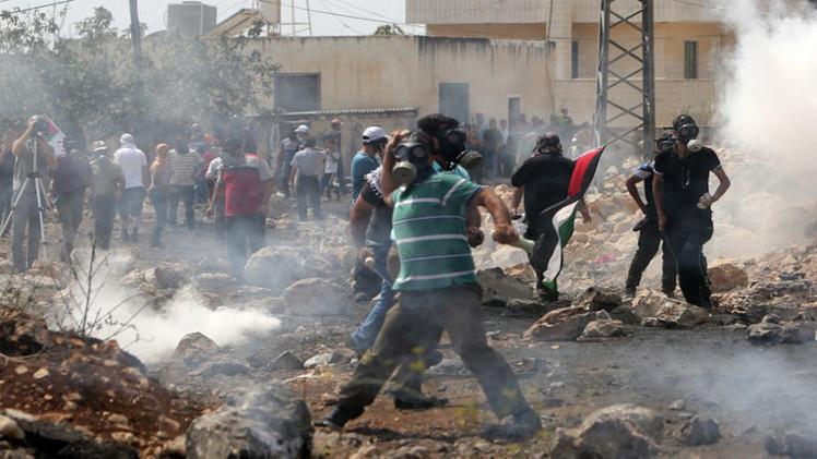 مواجهات في القدس بين القوات الإسرائيلية وفلسطينيين