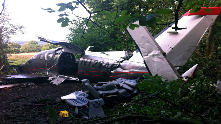 مقتل 10 أشخاص بتحطم طائرة في كولومبيا