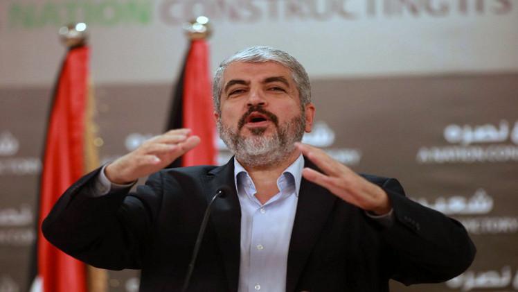 خالد مشعل : علينا أن نستكمل جميع ملفات المصالحة ونرتب البيت الفلسطيني