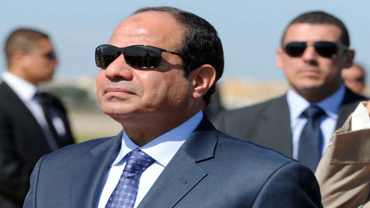 السيسي يحذر من التدخل الخارجي في ليبيا