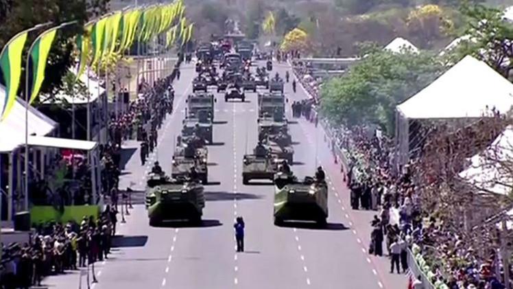 البرازيل..عرض عسكري احتفاء بالذكرى 192 للاستقلال (فيديو)