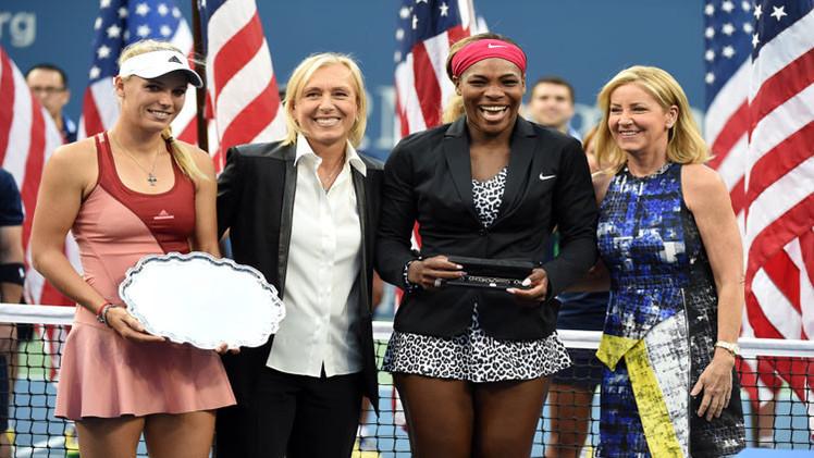 سيرينا وليامز تعزز صدارتها للتصنيف العالمي بفوزها التاريخي بلقب بطولة أمريكا