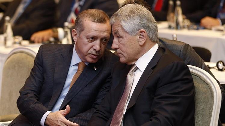 أردوغان وهاغل يبحثان آفاق التصدي لتنظيم