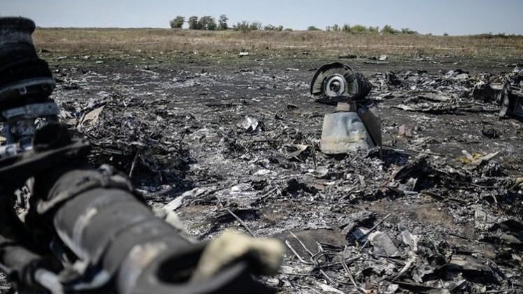 محققون هولنديون: الطائرة الماليزية شرقي أوكرانيا تحطمت لإصابتها بجسم خارجي