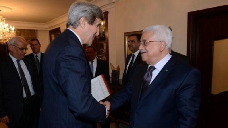 وزير الخارجية الفلسطيني: عباس يلتقي كيري هذا الأسبوع