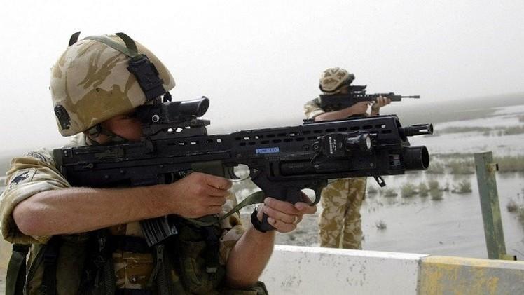 بريطانيا ترسل شحنة أسلحة إلى العراق لمساعدته في مواجهة