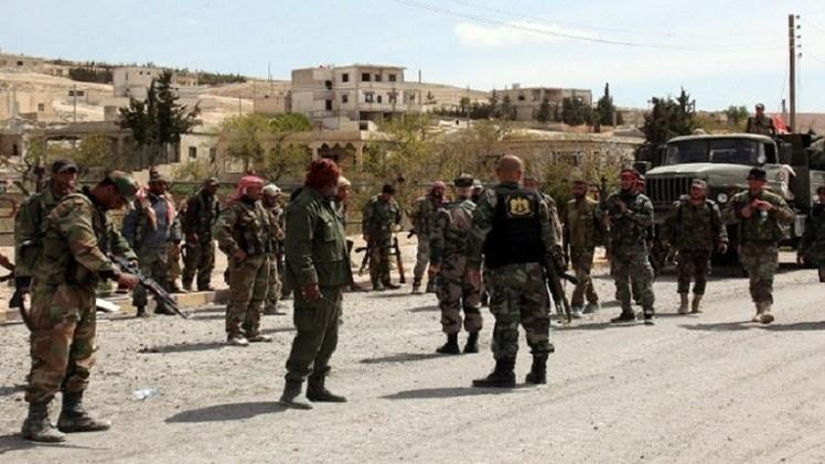القوات السورية تستعيد السيطرة على قرى في محيط مطار حماة العسكري