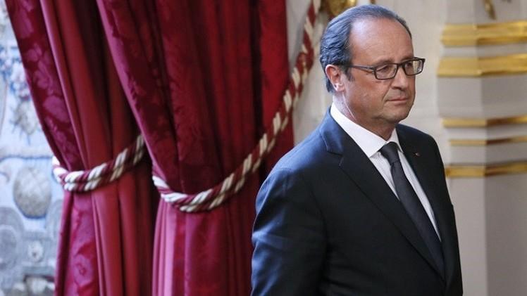 هولاند يتوجه الجمعة إلى بغداد قبل انعقاد مؤتمر دولي حول العراق في باريس