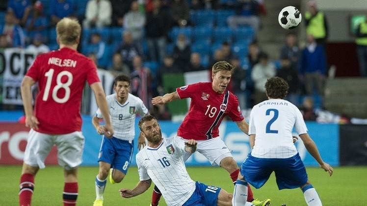 إيطاليا تبدأ غمارتصفيات كأس أوروبا 2016 بالفوز على النرويج