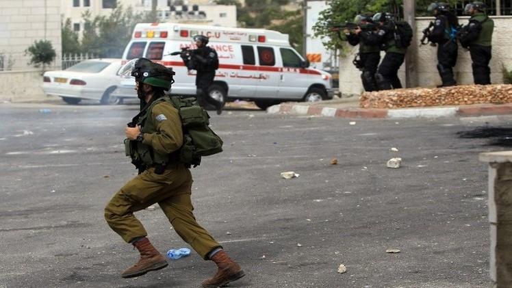 مقتل فلسطيني في مواجهات مع القوات الإسرائيلية برام الله