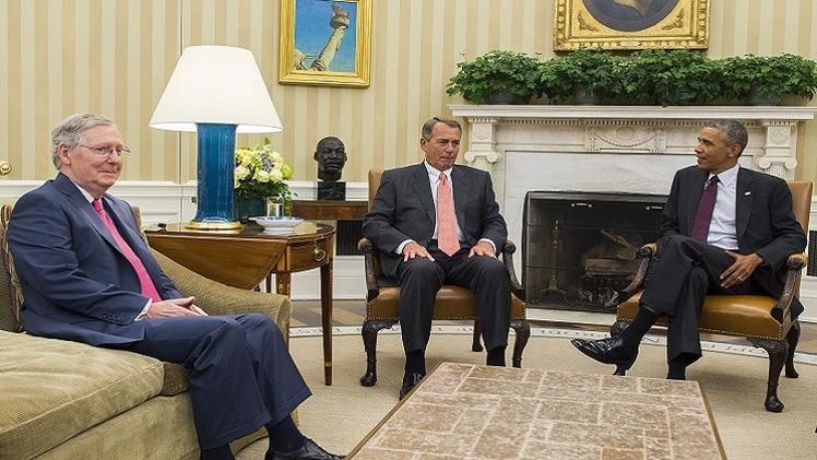 أوباما للكونغرس: لدي تفويض بمواجهة