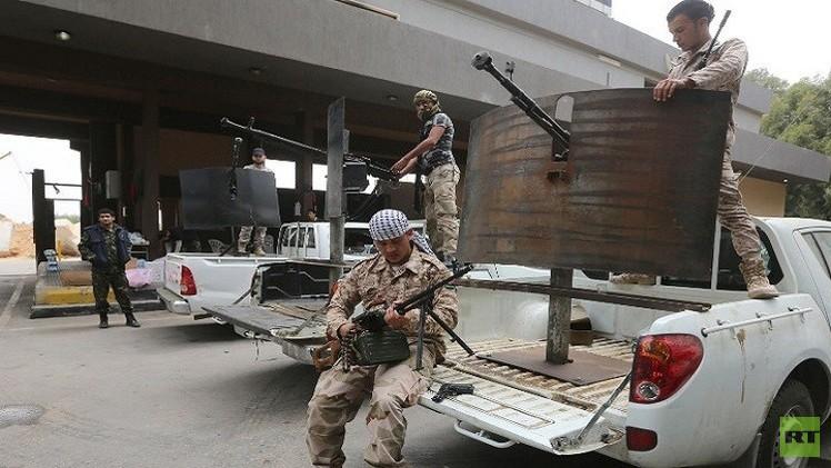 اختطاف 25 جنديا ليبيا