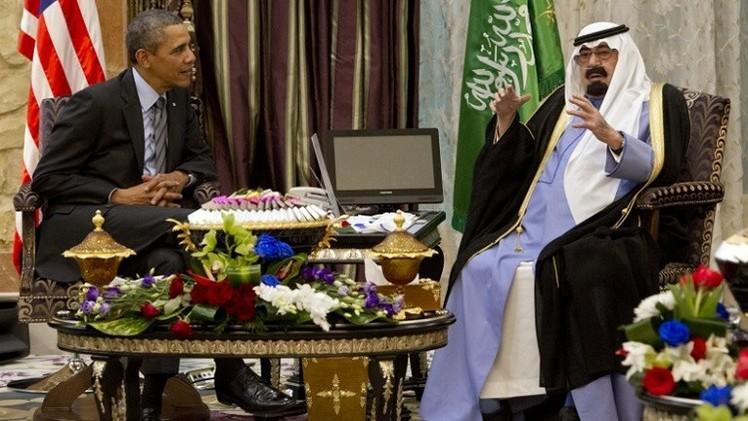أوباما يتصل بالعاهل السعودي قبل عرض خطته لمواجهة