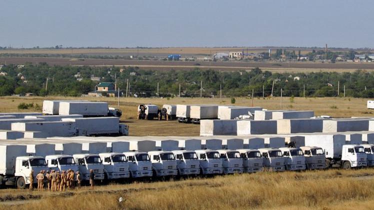 الطوارئ الروسية: لا جديد في إرسال قافلة ثانية من المساعدات الإنسانية إلى شرق أوكرانيا