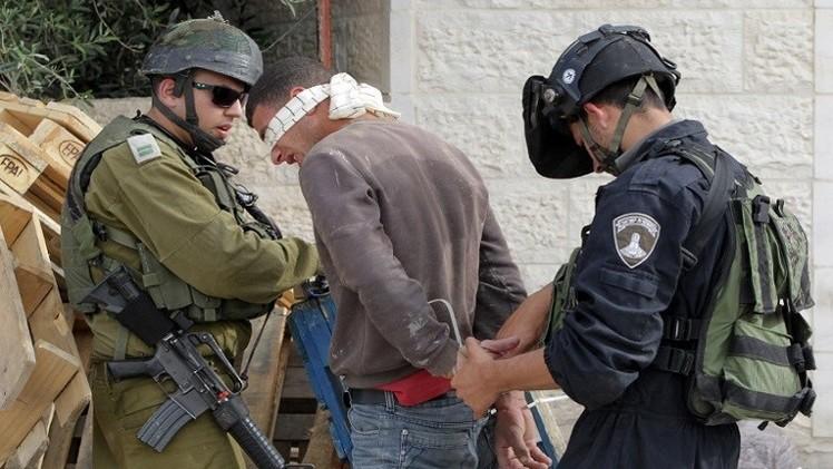 القوات الإسرائيلية تعتقل 39 فلسطينيا في الضفة الغربية