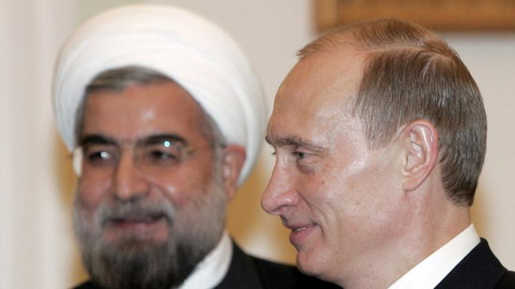 بوتين يلتقي روحاني ويشيد بأهمية التعاون الروسي الإيراني