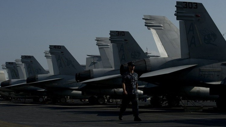 تحطم مقاتلتين أمريكيتين غرب المحيط الهادئ