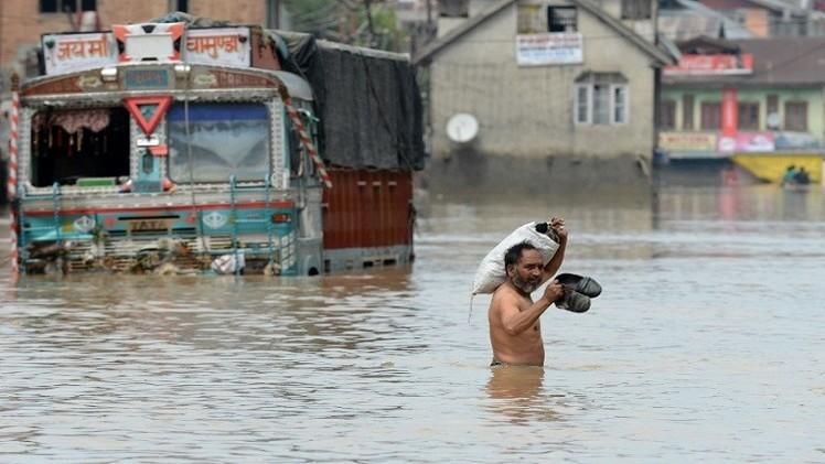 الفيضانات تلحق الضرر بمليوني شخص في باكستان