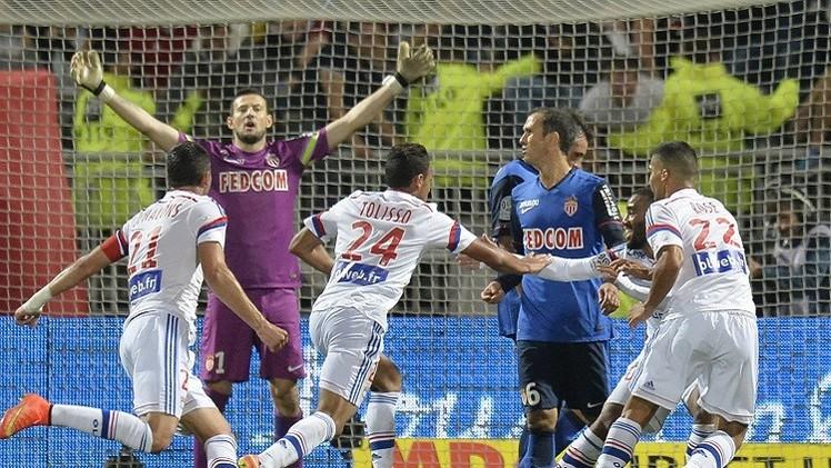 ليون يستعيد ذاكرة الانتصارات على حساب موناكو