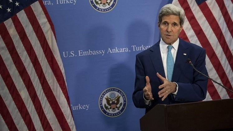كيري: لا دور لإيران في التحالف ضد