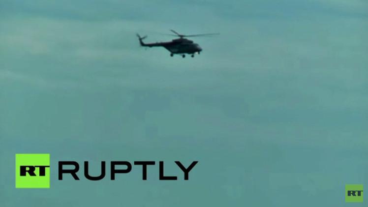 بالفيديو.. تدريبات عسكرية في المنطقة العسكرية الشرقية بروسيا