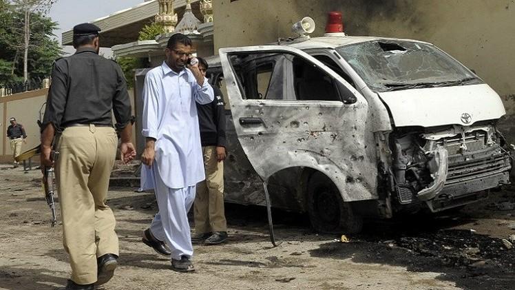 قتلى وجرحى بانفجار قنبلة في باكستان