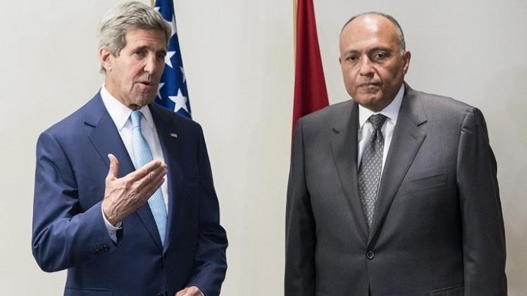 كيري:  أمام مصر دور مهم في مكافحة فكر