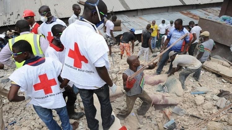 قتلى وجرحى في حادث انهيار مبنى تابع لكنيسة في نيجيريا